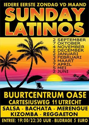 flyer sunday latino's